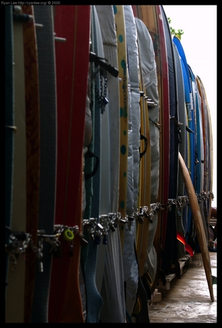 Surfboard Lockup