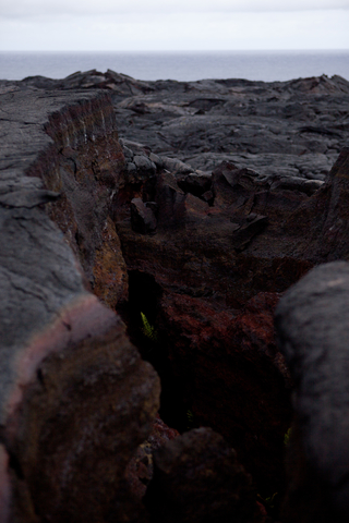 Newer lava flow