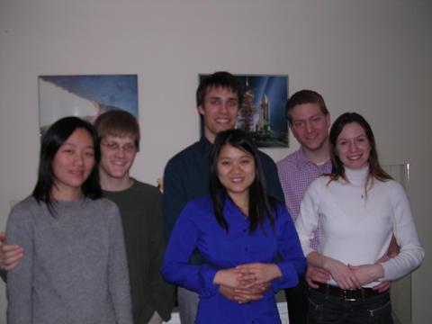 Smonica, Daniel, Ben, Sandy, Mark, and Erisa.