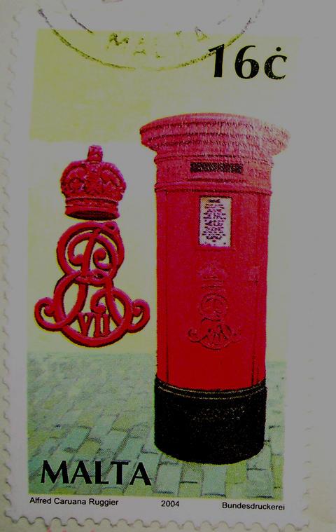 Maltese stamp