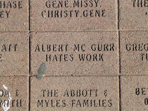 Albert McGurr hates work.
